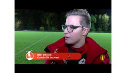 Embedded thumbnail for Standard vs OH Leuven 1-0 verslag Sportbeat