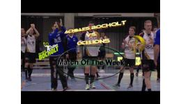 Embedded thumbnail for Match Of The Week Achilles Bocholt vs OCI LIons