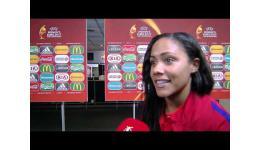 Embedded thumbnail for Alex Scott na plaatsing kwartfinales EK Woman met Engeland
