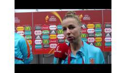 Embedded thumbnail for Jackie Groenen na 1-0 zege van Noorwegen met Nederland