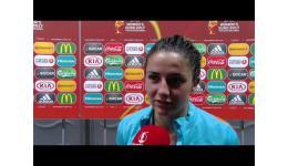 Embedded thumbnail for Danielle van de Donk na 1-0 zege van Nederland op EK