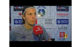 Embedded thumbnail for Laura De Neve na de zege van RSCA op KSK Heist Superleague
