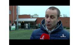 Embedded thumbnail for Top coach Luc Tossens aan het woord na verlies vs Kwik