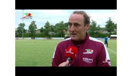 Embedded thumbnail for Yves Vanderhaeghe na 1-3 winst met Oostende op Zwevezele