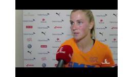 Embedded thumbnail for Zwitserland vs Engeland 0-4 reactie Ana Maria Crnogorcevic van Zwitserland