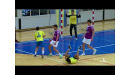 Embedded thumbnail for Merksem Handbal wint van Kortrijk in laatste oefenpot.