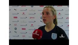Embedded thumbnail for Jordan Nobbs na Zwitserland vs Engeland (0-4)