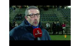 Embedded thumbnail for Standard wint met 1-2 op KRC Genk na stevige pot Superleague voetbal, reacties en de goals