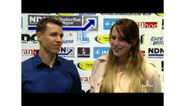 Embedded thumbnail for Bart Cleyman en vrouwlief Patty Peeters voor de Sportbeat lens
