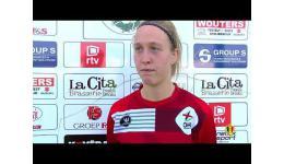 Embedded thumbnail for OH Leuven wint met 0-11 op KSK Heist in Play-off 2 Superleague