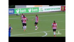 Embedded thumbnail for PSV Eindhoven vs KRC Genk Ladies 1-1 de goals